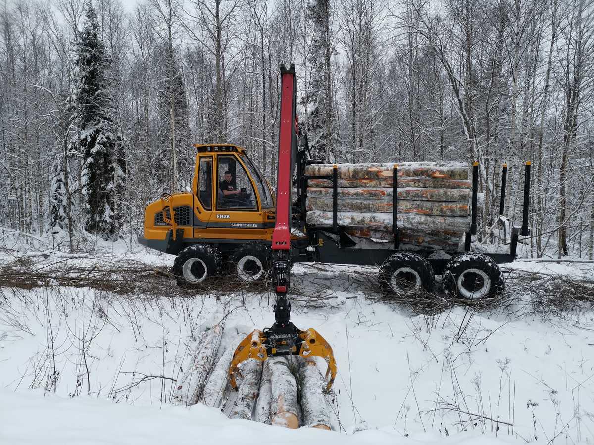 metsamaterjali kokkuvedamine