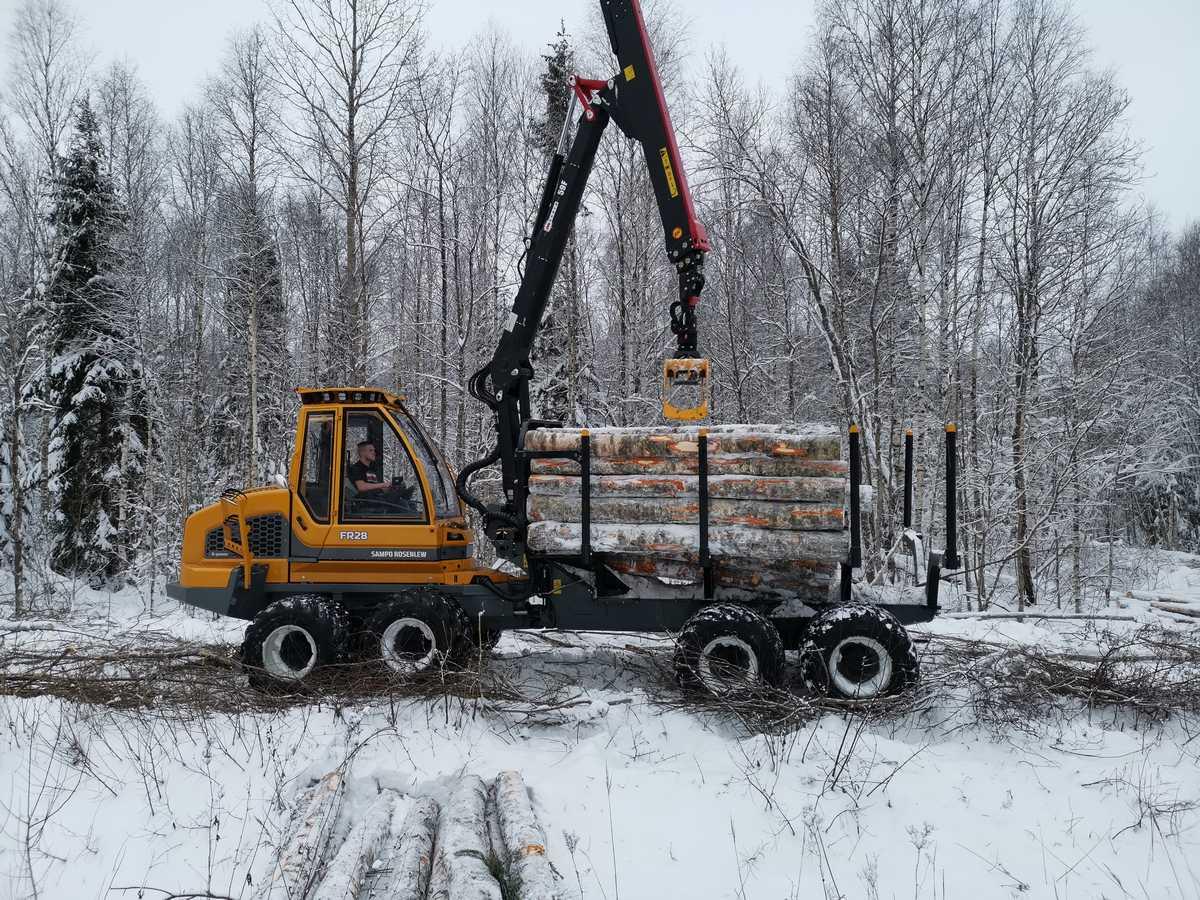 metsamaterjali kokkuvedu